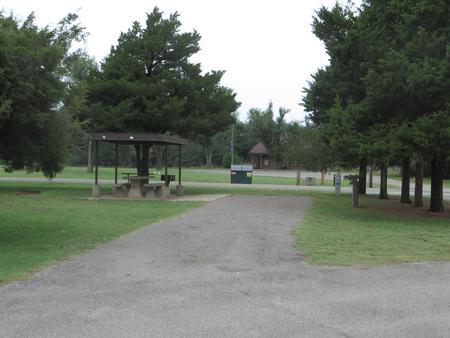 View of campsite 80