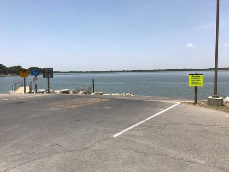 Boat ramp in Midway Park