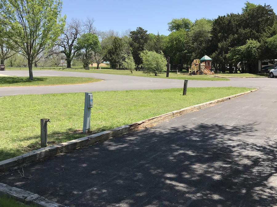 Site is located near playground