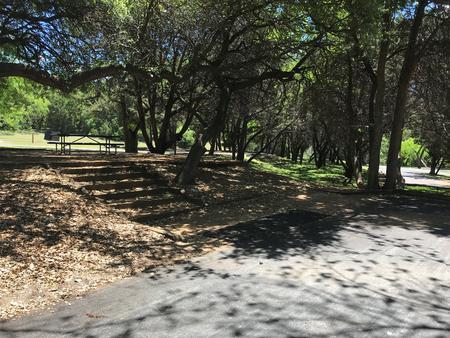 RV site with picnic area