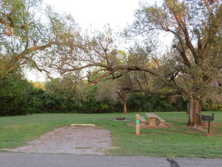 Big Bend A1Big Bend A Campground Site 1