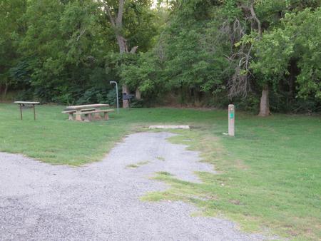 Big Bend A6Big Bend A Campground Site 6