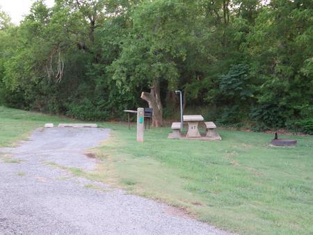 Big Bend A7Big Bend A Campground Site 7