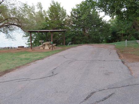 Big Bend A13Big Bend A Campground Site 13