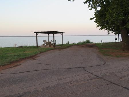 Big Bend A20Big Bend A Campground Site 20