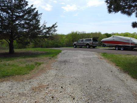 Site 33 in Arrow Rock Campground