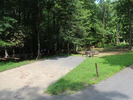 Greenbelt Park campground Site 37