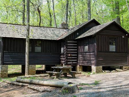 Camp Misty Mount Cabin 16 Outside