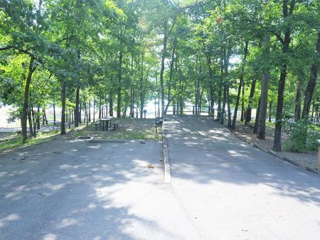 Gillham Lake, Big Coon Creek Site #19Campsite #19