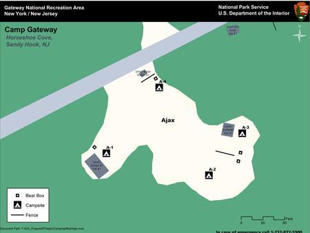 Ajax 'A' loop mapOverhead view of the 'A' Loop