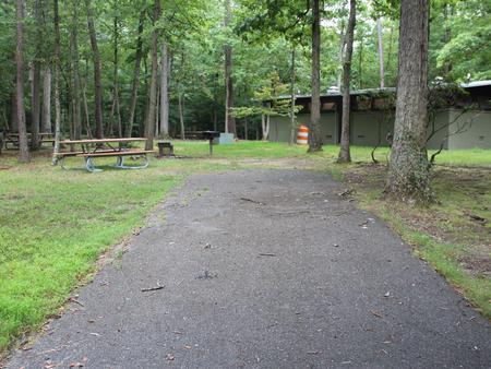 Greenbelt Park Campground Site 97