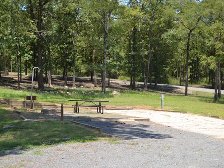Jefferson Ridge Site 39Campsite 39