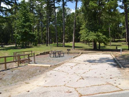 Jefferson Ridge Site 44Campsite 44