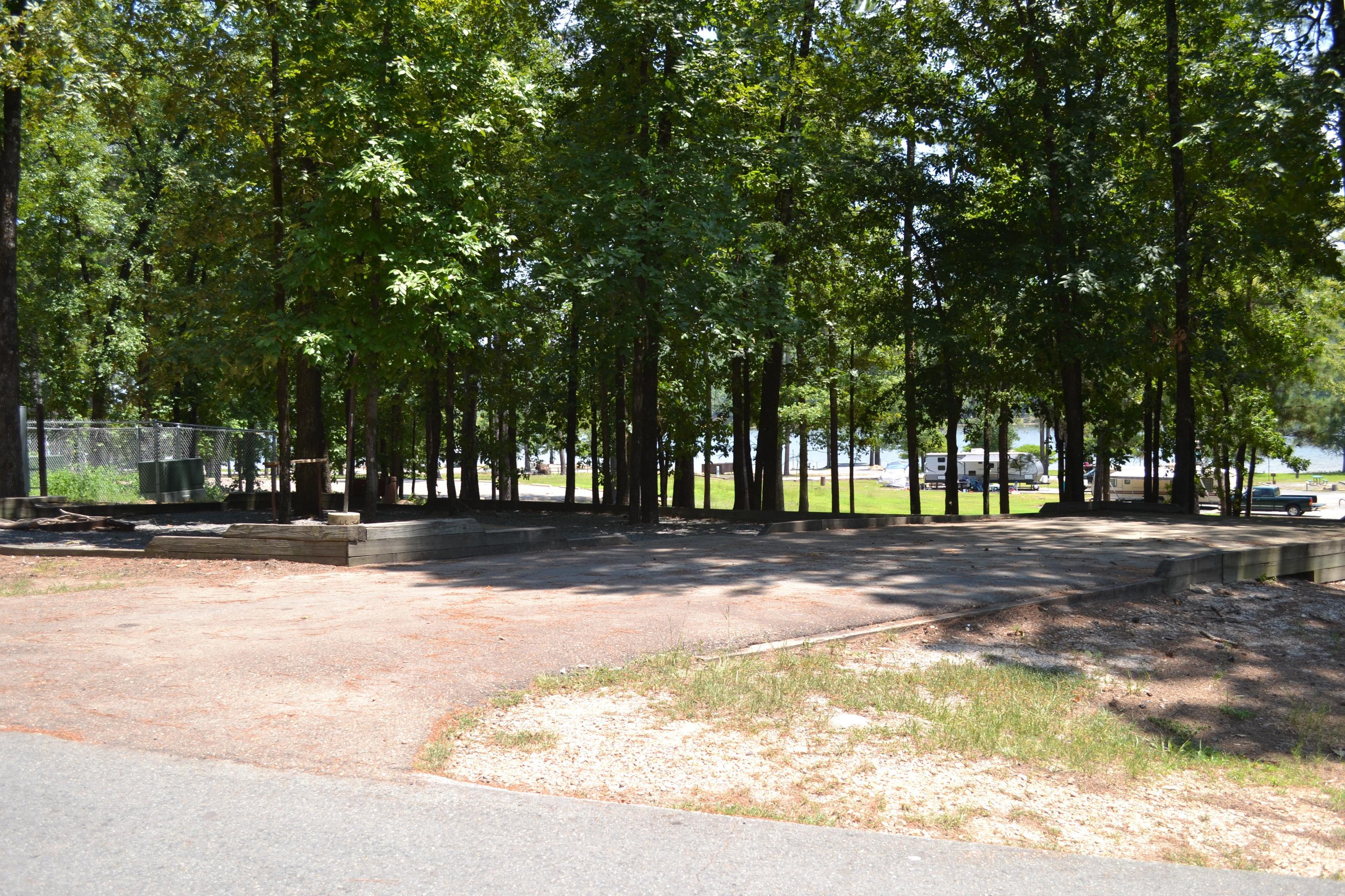 Jefferson Ridge Site 49Campsite 49