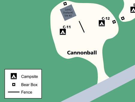 Aerial view of 'C' Loop