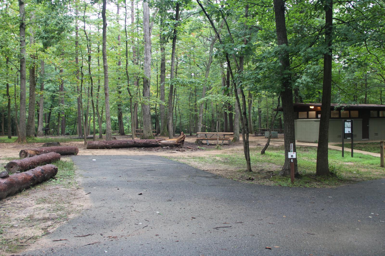 Greenbelt Park Campground Site 006