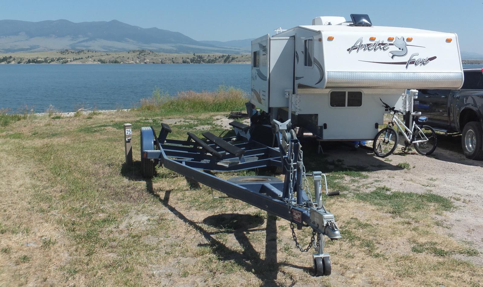 White Earth Campground - Campsite 25