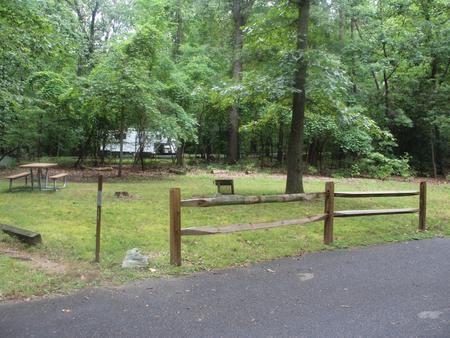 Greenbelt Park Campground Site 113