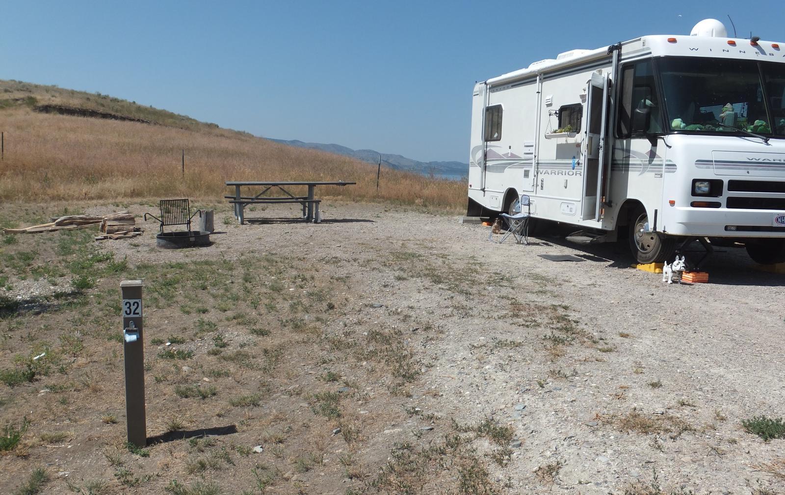 White Earth Campground - Campsite 32