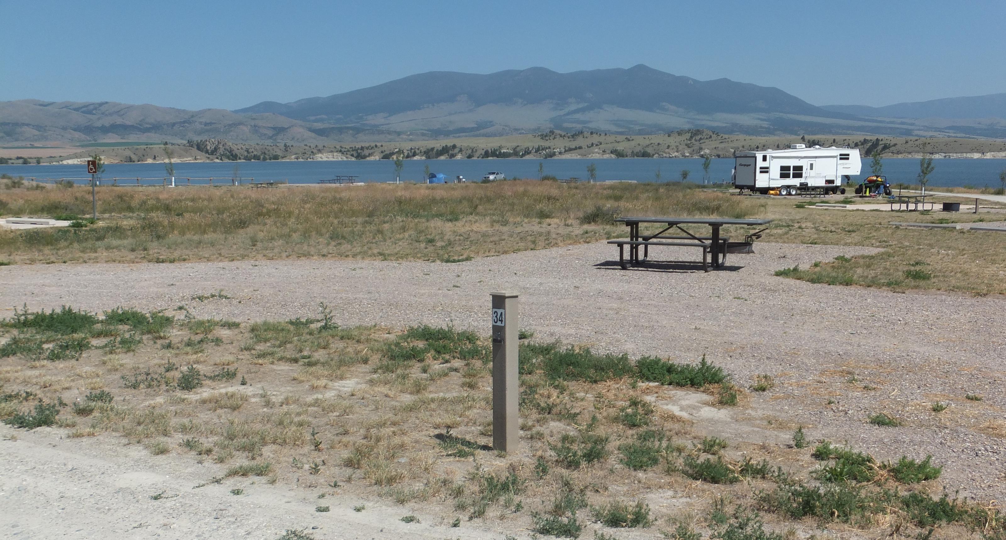 White Earth  Campground - Campsite 34