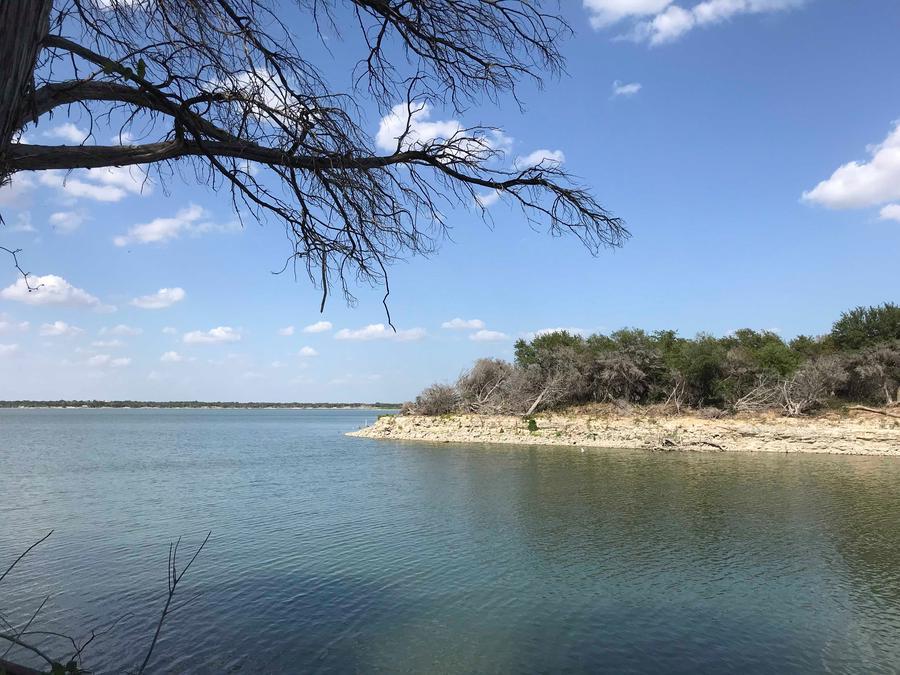 View of Waco Lake at Reynolds Creek park