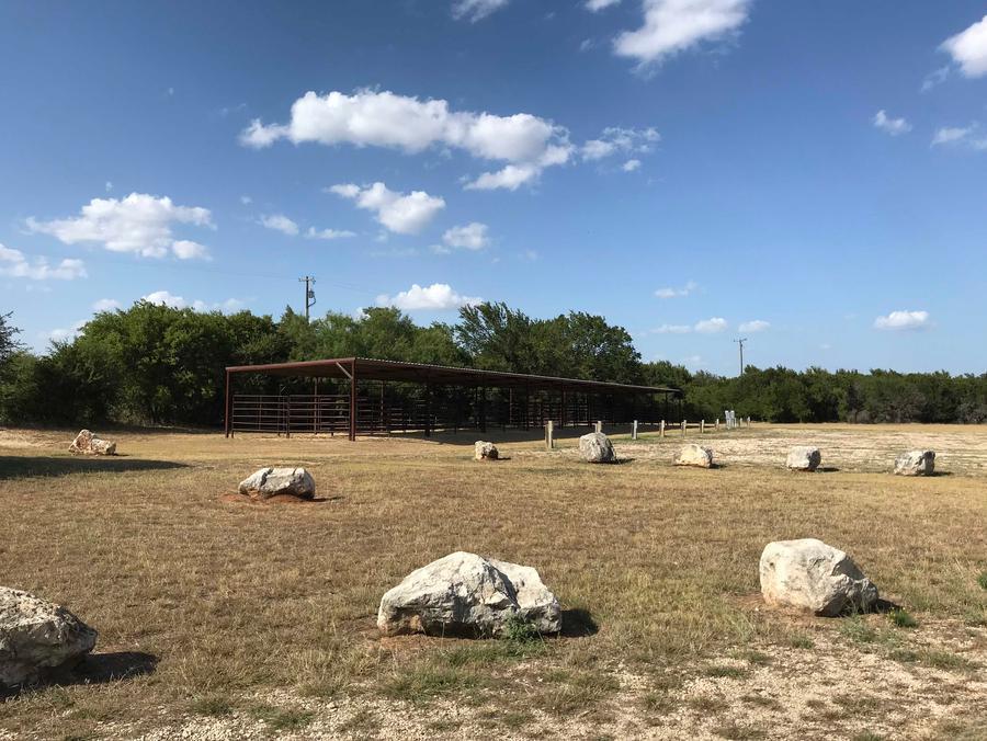 Equestrian camping area