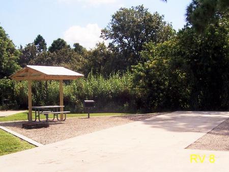 RV Campsite #8