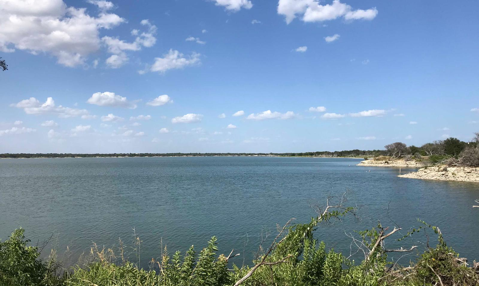 View of Waco Lake at Reynolds Creek park