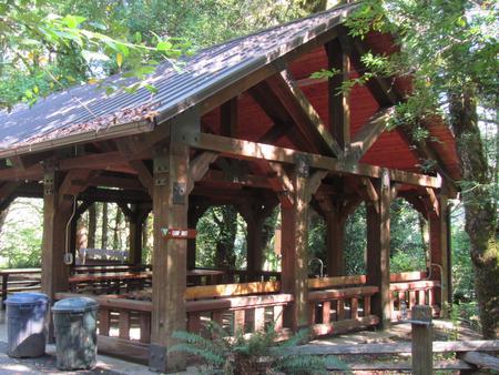 Large group pavilion