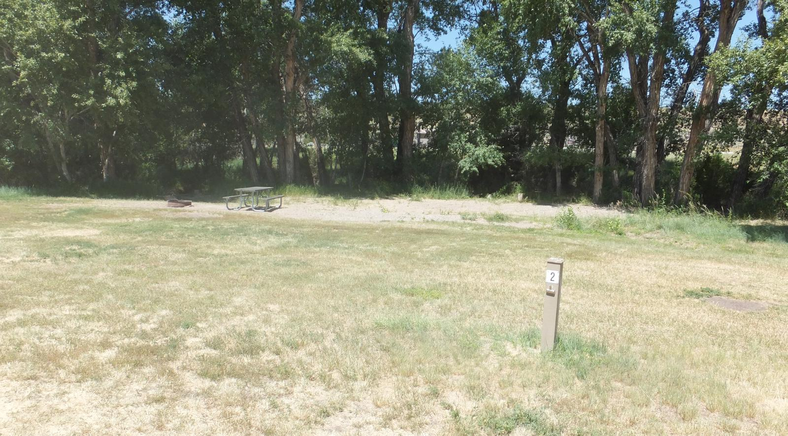 Hellgate Campground - Campsite 2