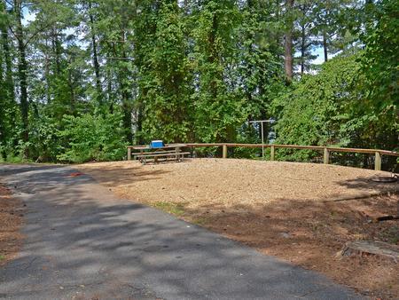 McKinney Campground Site 33