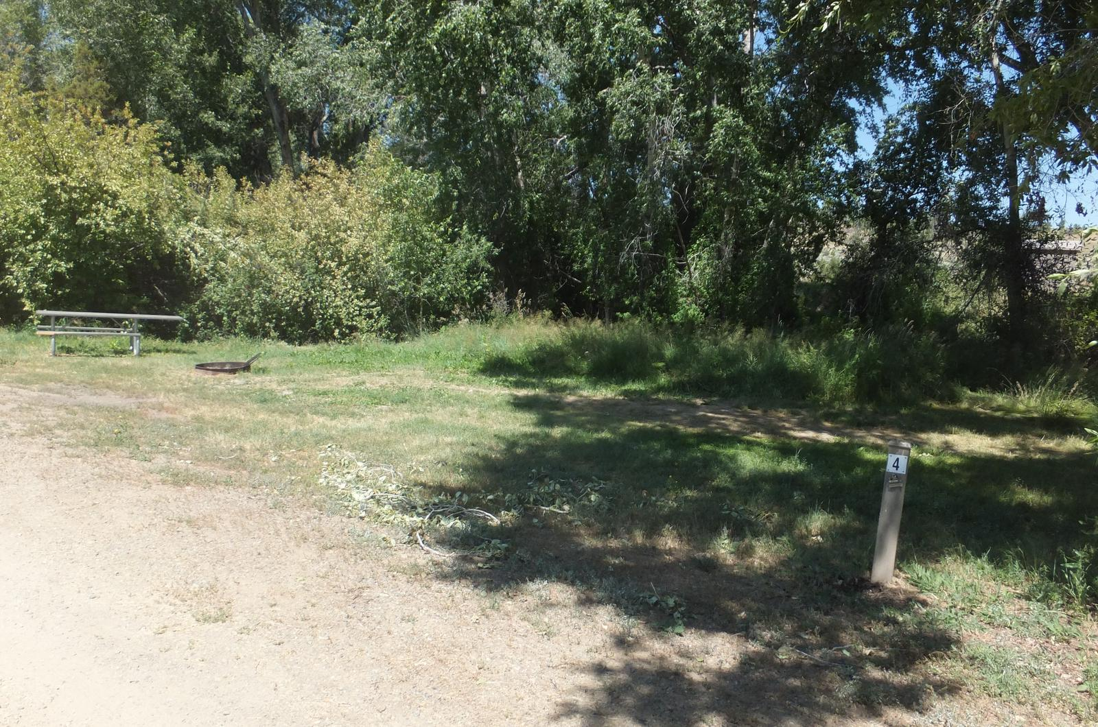 Hellgate Campground - Campsite 4