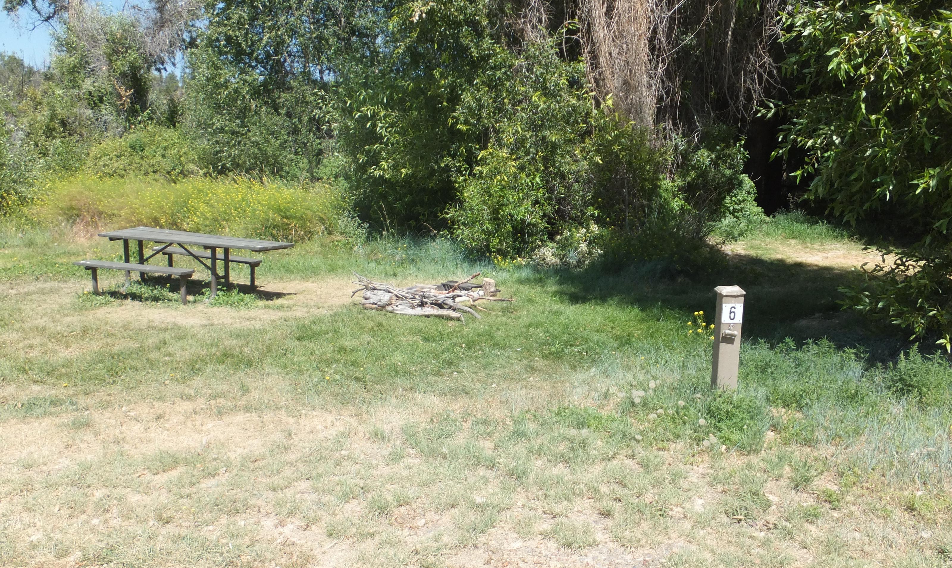 Hellgate Campground - Campsite 6