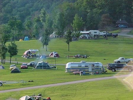 Bluff View ParkBluff View C section camping