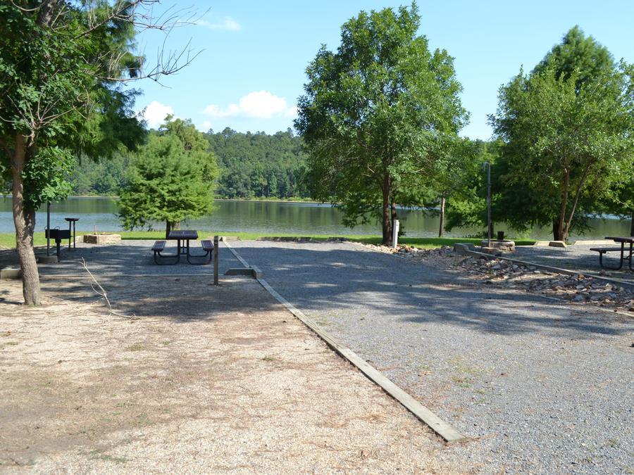 Jefferson Ridge Site 8Campsite 8
