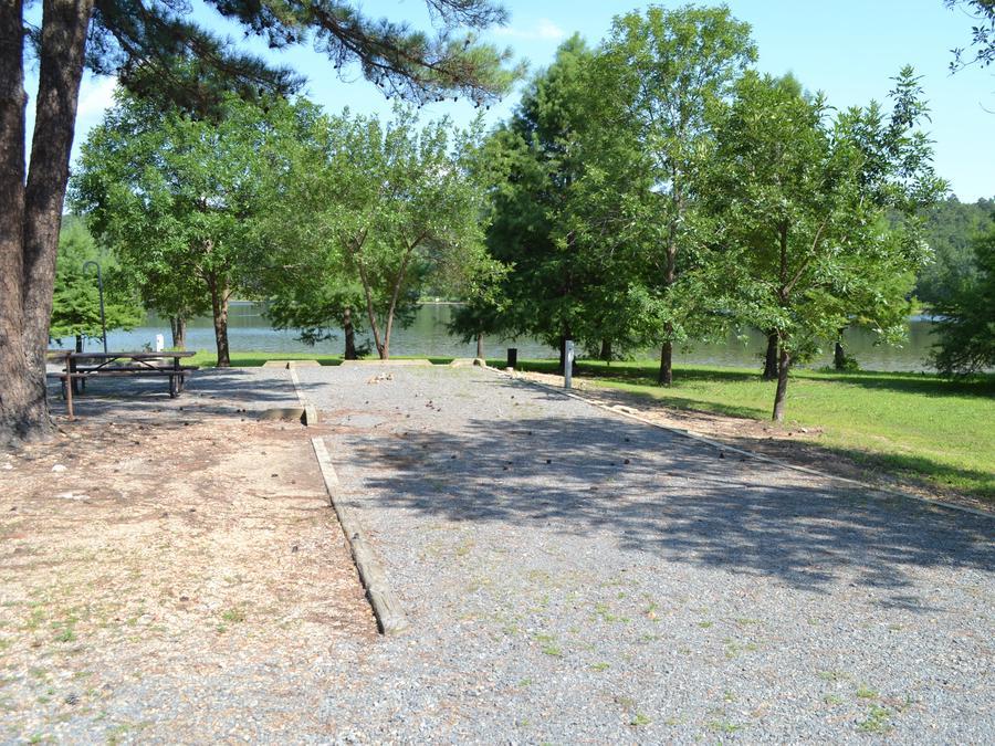 Jefferson Ridge Site 9Campsite 9