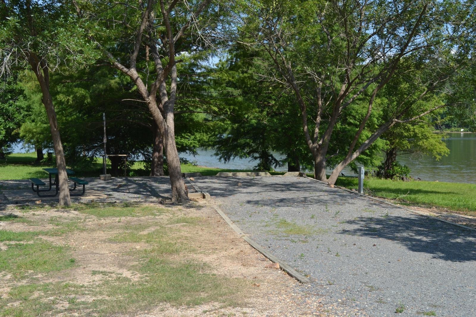 Jefferson Ridge Site 10Campsite 10