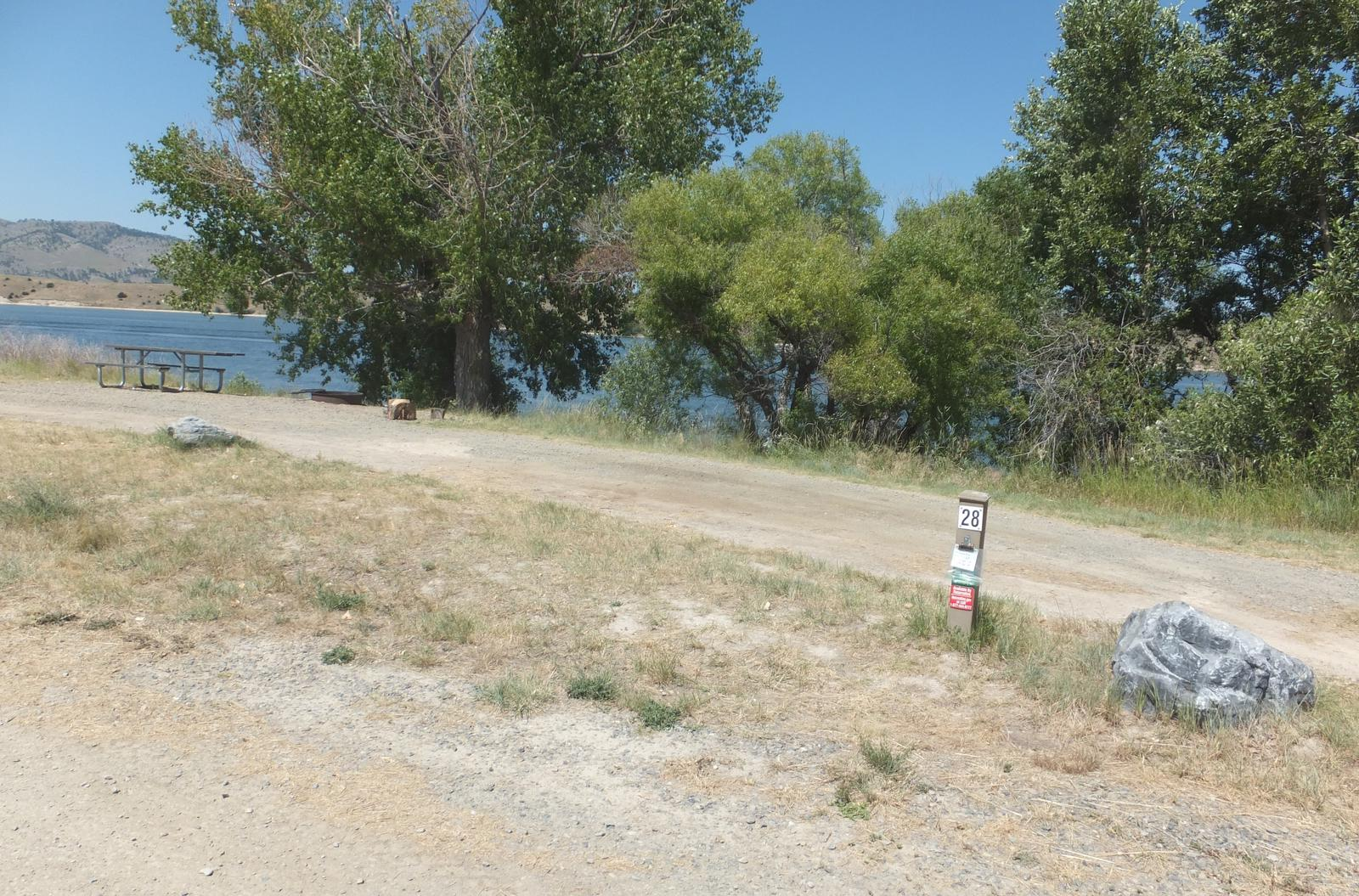 Hellgate Campground - Campsite 28