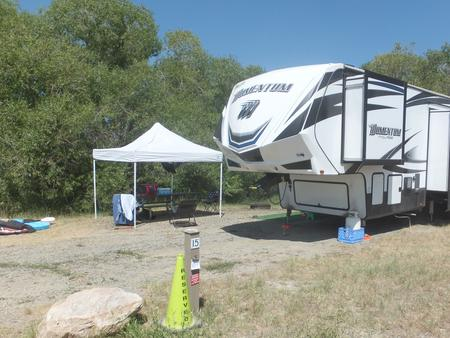 Hellgate Campground - Campsite 15