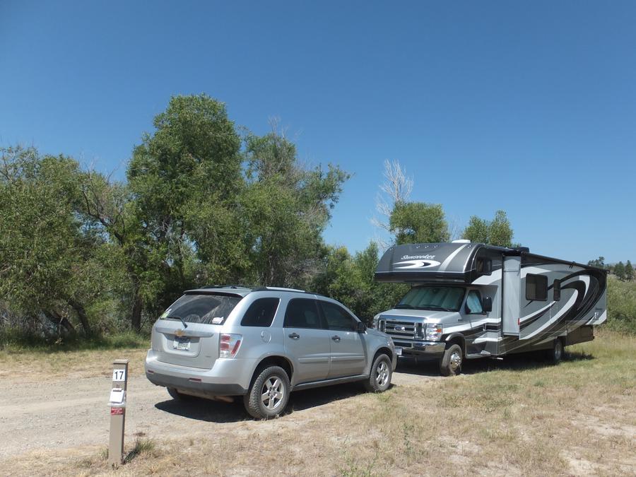 Hellgate Campground - Campsite 17