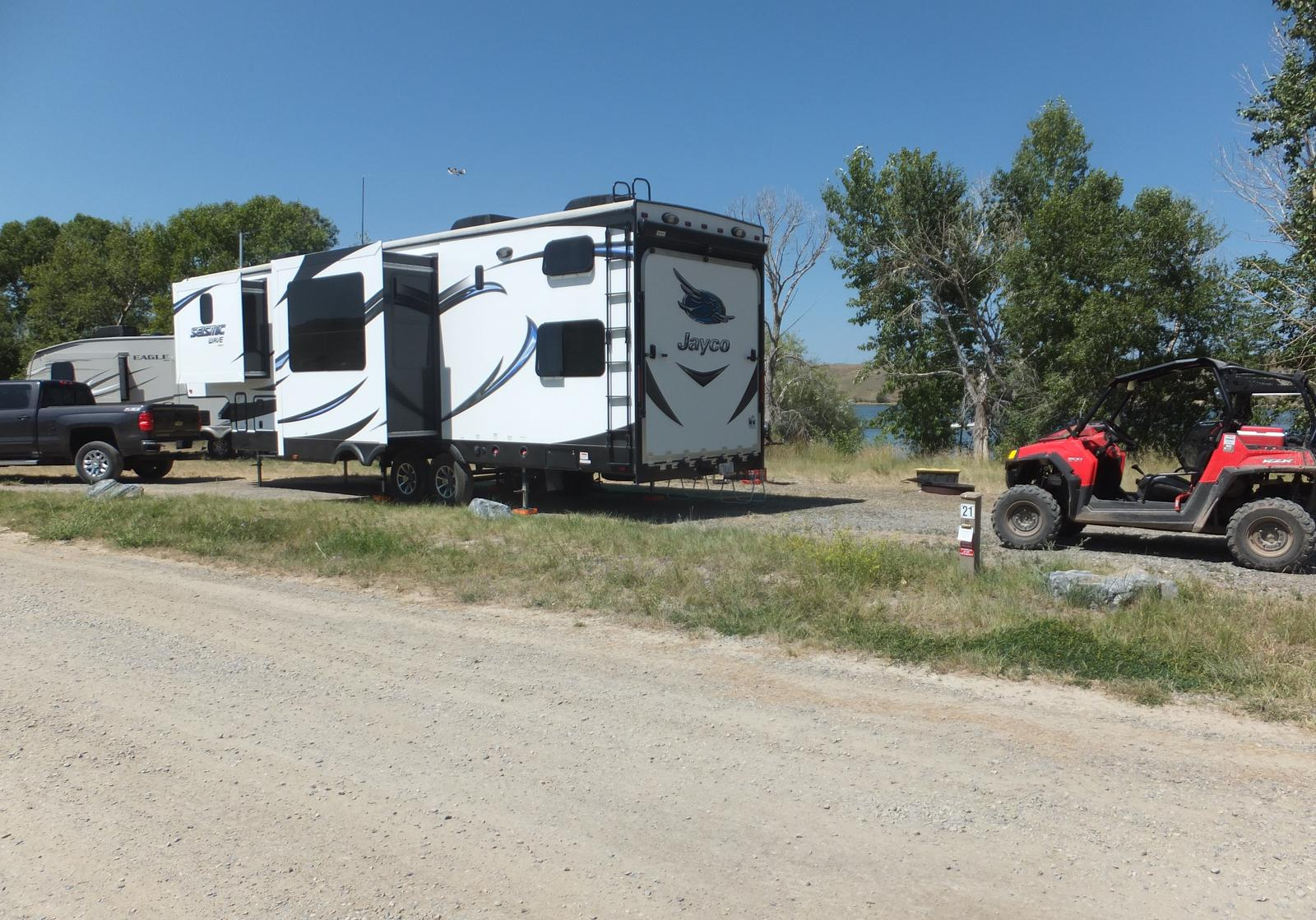 Hellgate Campground - Campsite 21