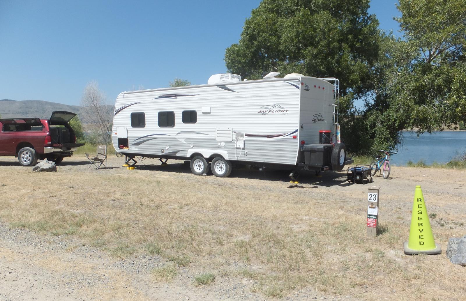 Hellgate Campground - Campsite 23