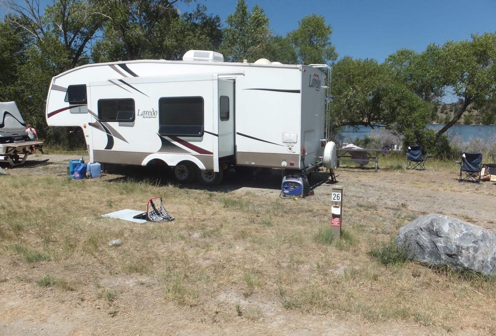 Hellgate Campground - Campsite 26