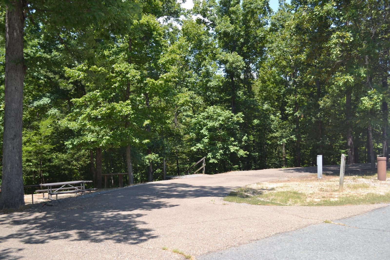 Jefferson Ridge Site 72Campsite 72