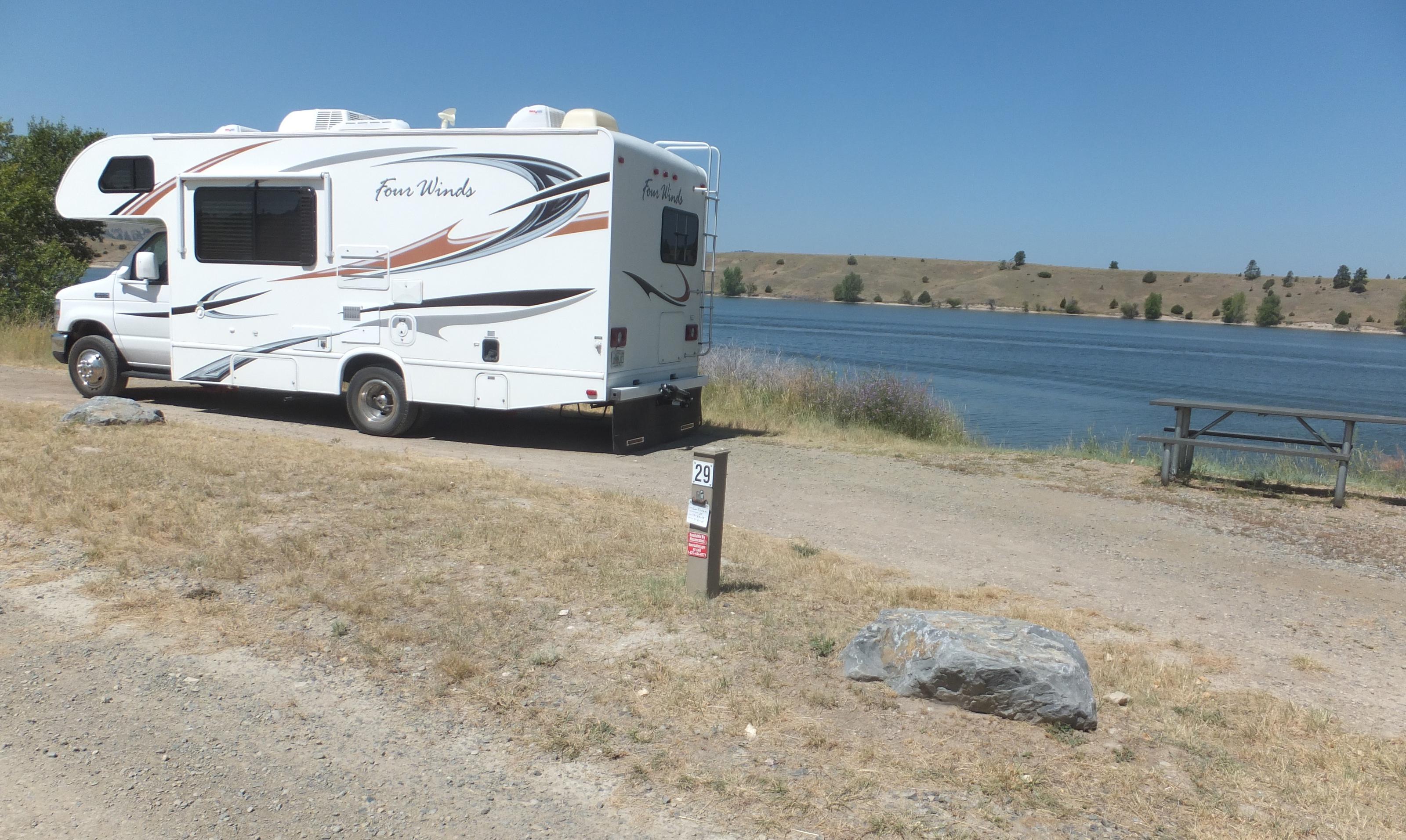 Hellgate Campground - Campsite 29