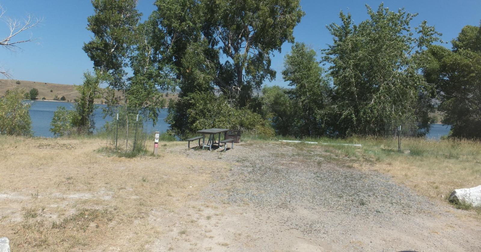 Hellgate Campground - Campsite 31