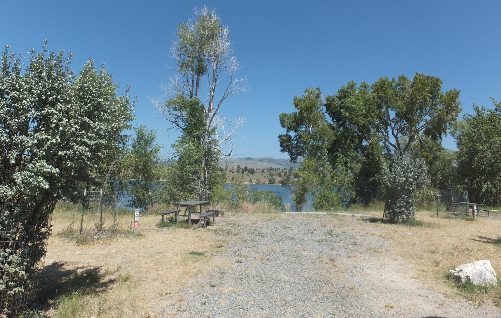 Hellgate Campground - Campsite 32