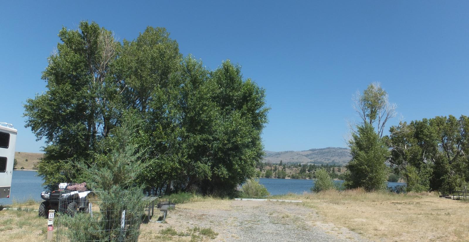 Hellgate Campground - Campsite 33