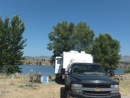 Hellgate Campground - Campsite 34
