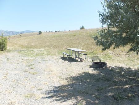 Hellgate Campground - Campsite 35